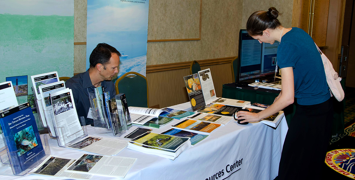 NCER - Conference table displays